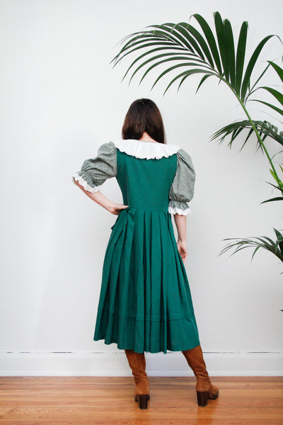 Prairie Frill Cotton Dress