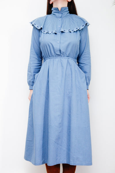 Prairie Cotton Maxi Dress