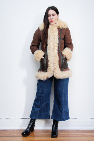 1970's Afghan Sheepskin Coat