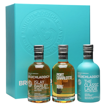 BRUICHLADDICH Wee Laddie Tasting Collection 3 X 200ml - Drop Club