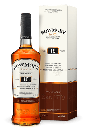 Bowmore 18 Year Old Single Malt Scotch Whisky - Drop Club