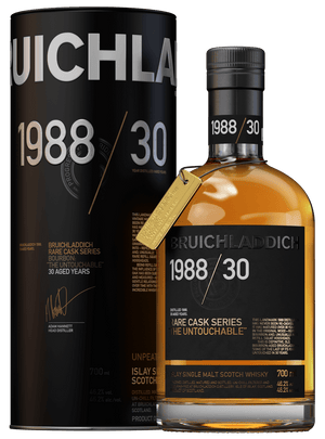 BRUICHLADDICH 1988 / 30 YEARS BOURBON CASK: 'THE UNTOUCHABLE' - Drop Club