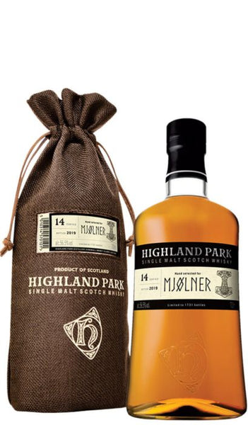 Highland Park Mjolner 14 Year Old Australian Exclusive Cask Strength Single Malt Scotch Whisky - Drop Club