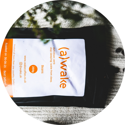 wake coffee packaging delivery fresh roasted coffee