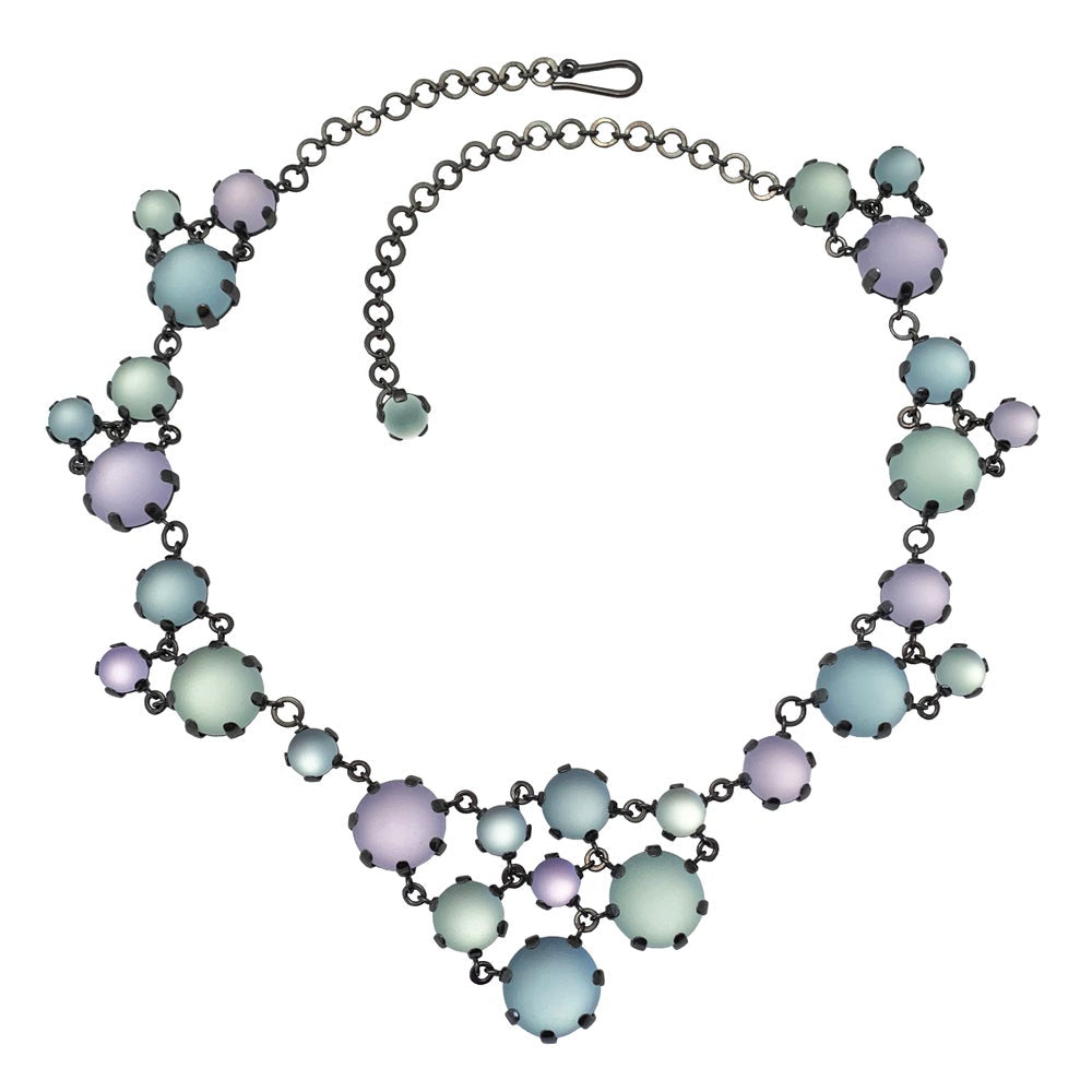 Triangle Maille Statement Necklace