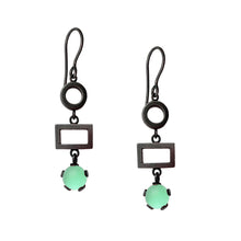Load image into Gallery viewer, Circle, Rectangle, Drop Earrings