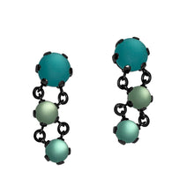 Load image into Gallery viewer, Triple Rock Maille Earrings
