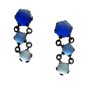 Triple Rock Maille Earrings