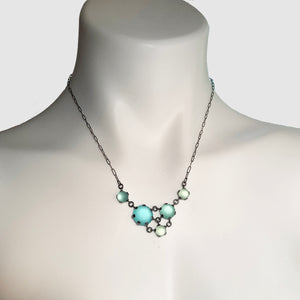 Small Triangle Maille Necklace