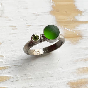 Double-green Ring