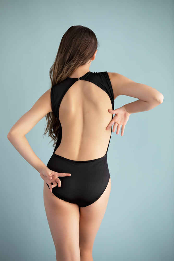 Carli Black Leotard