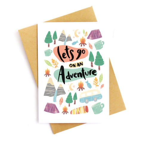 Let's Adventure Card