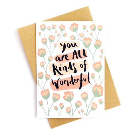 All Kinds of Wonderful Card