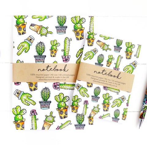 House Plant A6 Notebook Gift Set