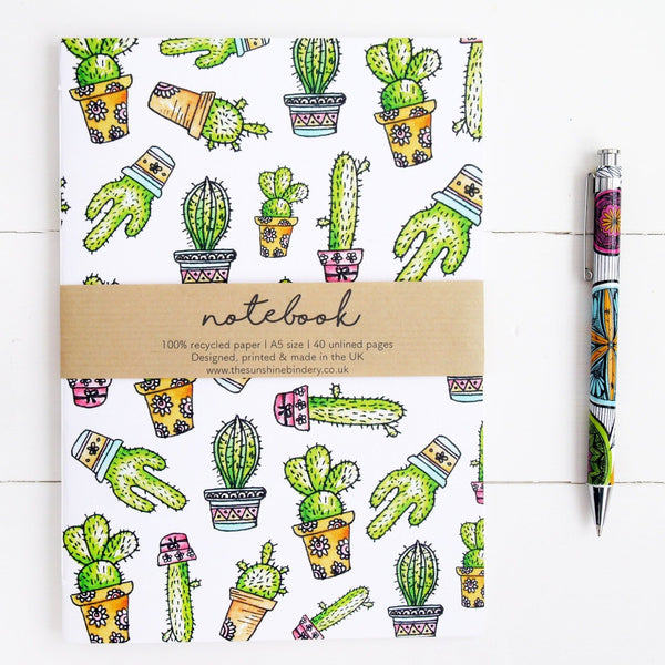 House Plant A5 Notebook