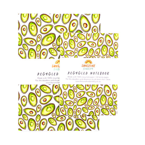 Avocado Notebook Gift Set