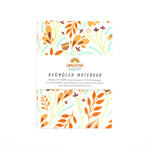 Folk Florals Notebook
