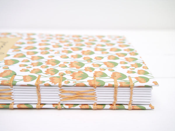 Custom Made Floral Journal - A6, A5 - Personalised