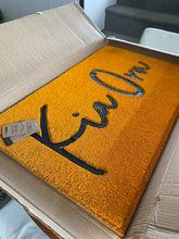 Load image into Gallery viewer, Door Mats - Kia Ora (Kowhai)
