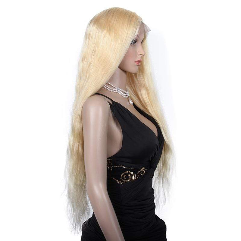 Malaysian Blonde Natural Wave Full Lace Wig
