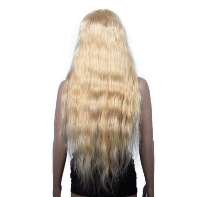"Cheveux Luxury 24"" Malaysian Blonde Natural Wave Full Lace Wig"