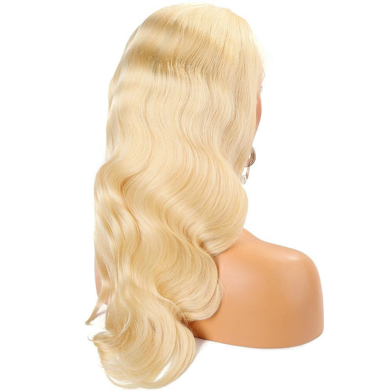 Cheveux Luxury Brazilian Blonde Body Wave Full Lace Wig