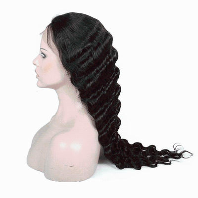 Cheveux Luxury Brazilian Deep Body Wave Full Lace Wig