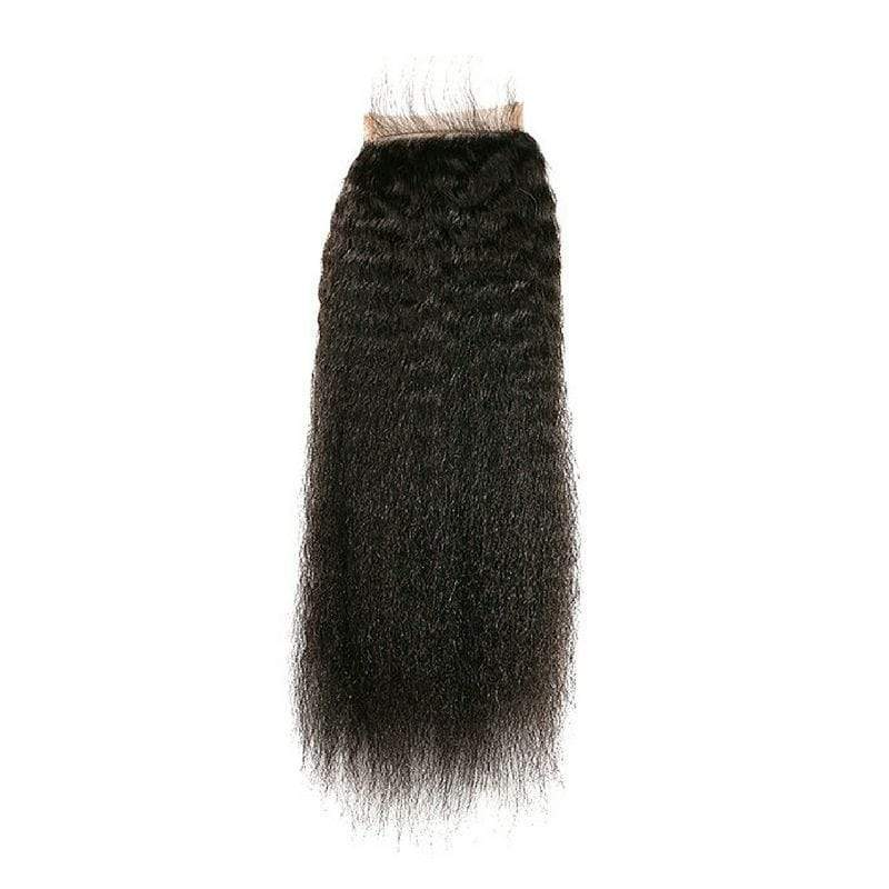 Cheveux Luxury Brazilian Kinky Straight Closure