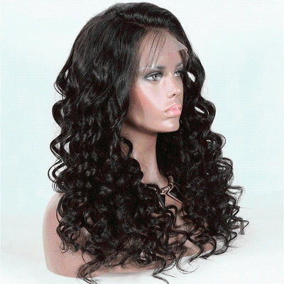 Cheveux Luxury Indian Deep Body Wave Full Lace Wig