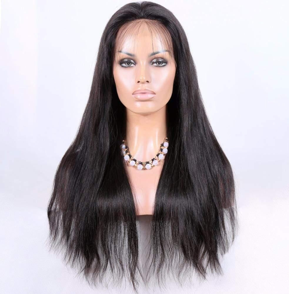 Cheveux Luxury Indian Natural Straight Full Lace Wig