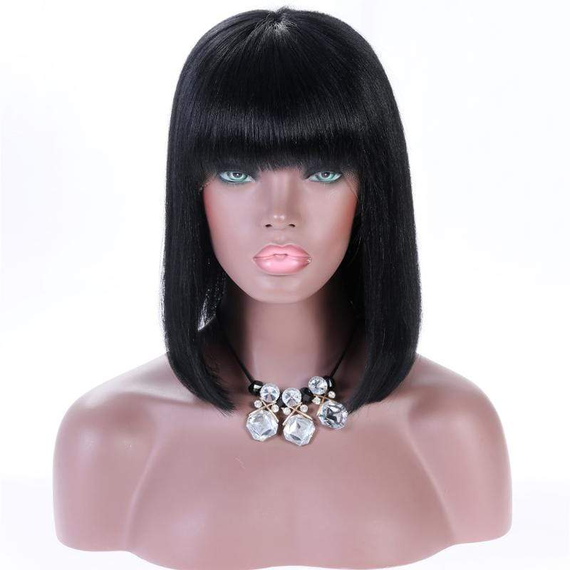 Cheveux Luxury® Indian Straight Bob Front Lace Wig