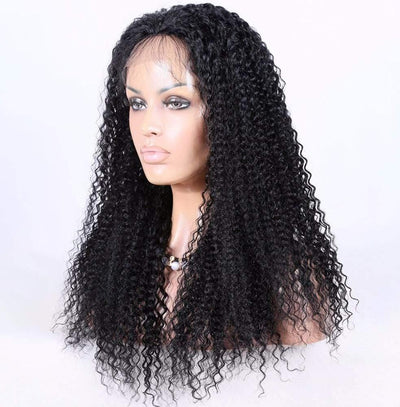 Cheveux Luxury Mongolian Kinky Curly Full Lace Wig