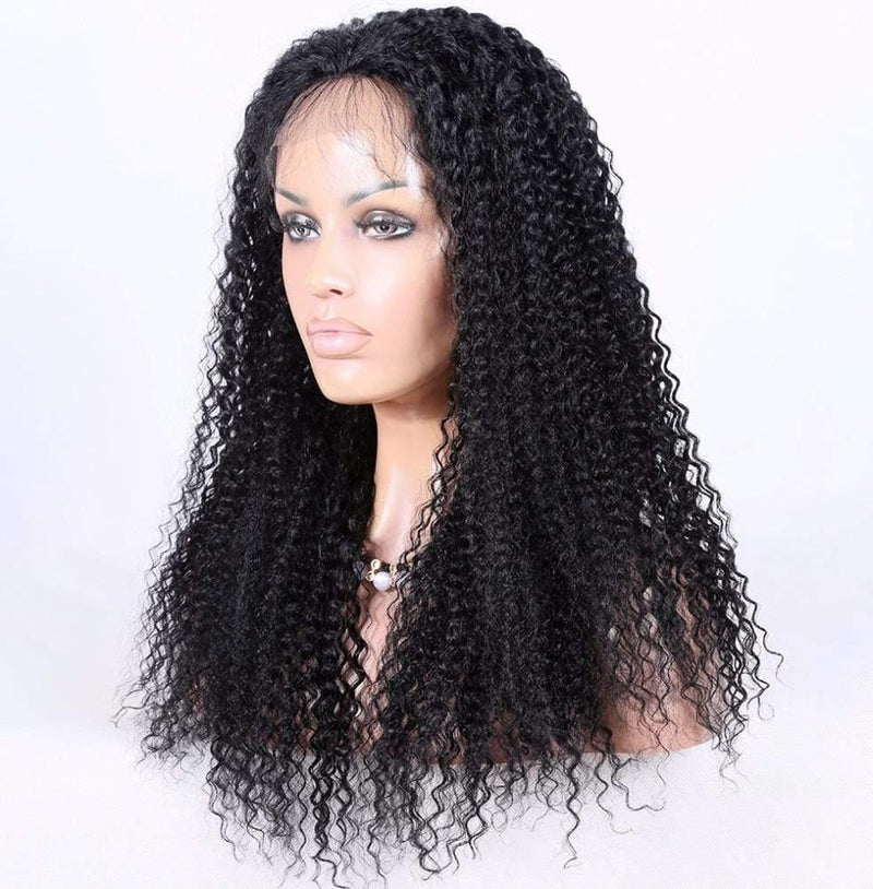 Mongolian Kinky Curly Full Lace Wig