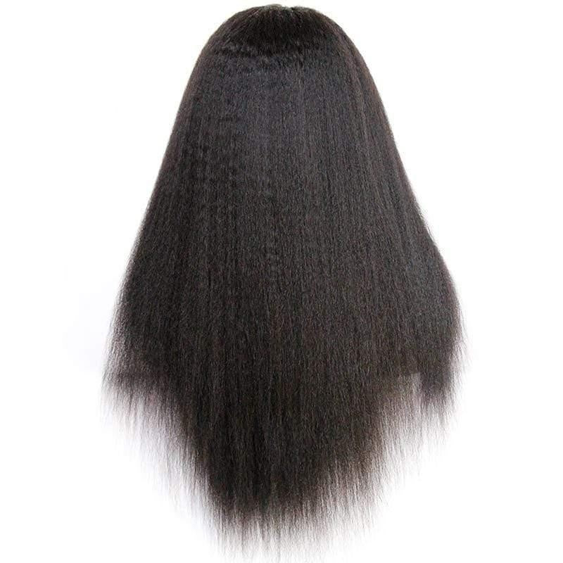 Peruvian Kinky Straight Full Lace Wig