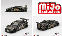 Mini GT 1:64 MiJo Exclusives - Nissan GT-R R35 Type 2 Rear Wing JPS John Player Special - Limited to 1,800 pieces (USA Exclusive)
