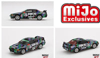 Mini GT 1:64 MiJo Exclusives - Nissan Skyline GT-R R32 Gr. A. #87 HKS 1993 Japan Touringcar Championship (USA Exclusive) (Limited to 1,800 pieces)