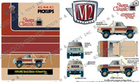 M2 Machines 1:64 Hobby Exclusive 1976 GMC Sierra Grande 15 Desert Fox Limited Edition