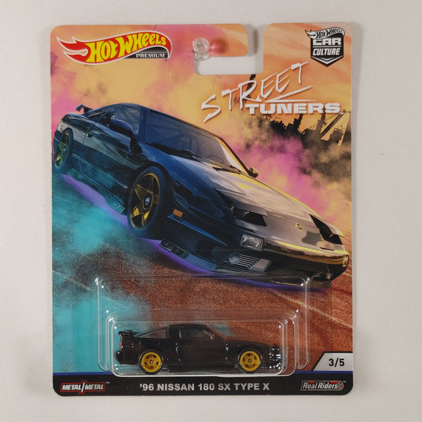 Hot Wheels Street Tuners 1996 Nissan 180sx Type-X (240sx)