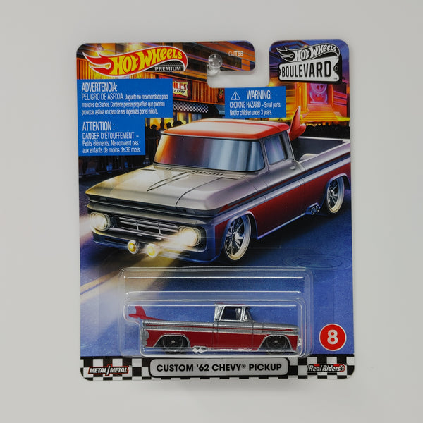 2020 Hot Wheels Boulevard Series CUSTOM 62 CHEVY PICKUP