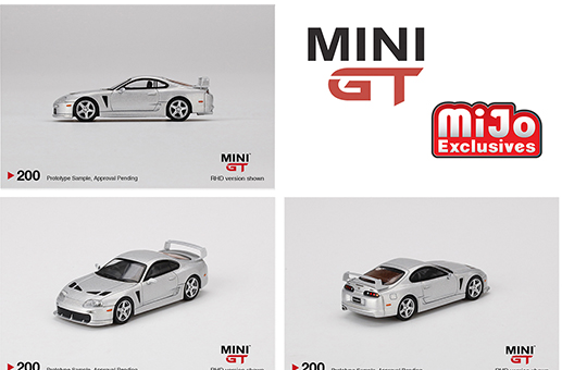 **PRE ORDER** Mini GT 1:64 Toyota TRD 3000GT Alpine Silver Metallic Limited Edition