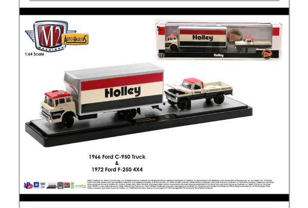 ***PRE ORDER*** M2 Machines Auto-Haulers Release 43 (36000-43) HOLLY 1972 Ford F250 4x4