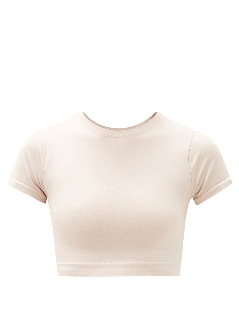 T-SHIRT CROP BIANCA