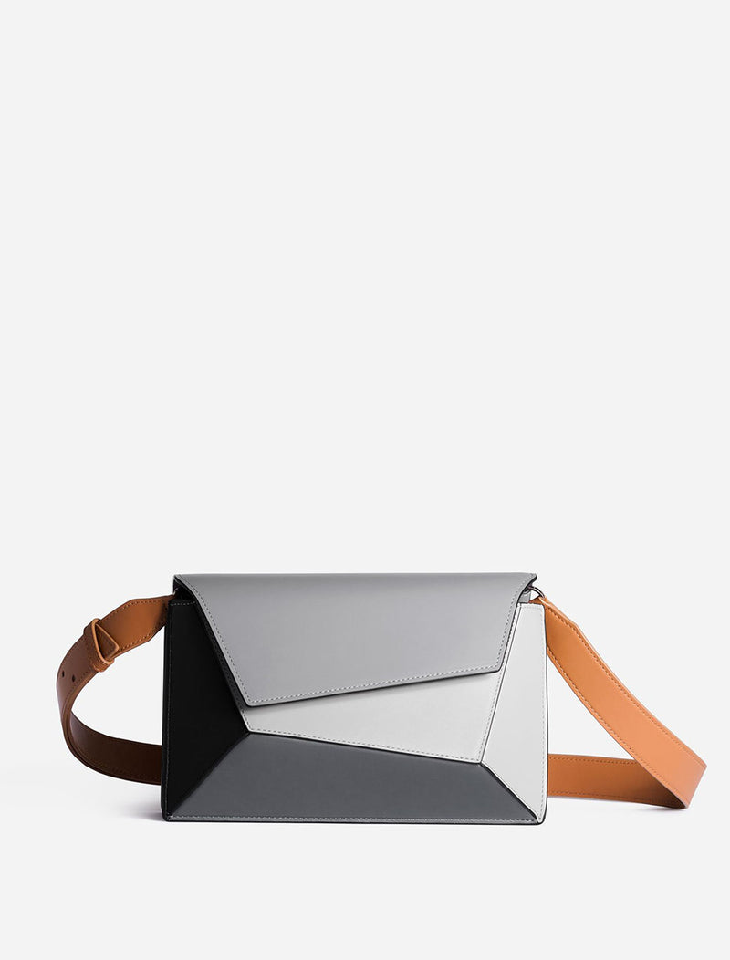 BORSA NAOMI BLACK AND GREY