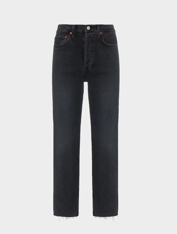 Jeans stretch Fade Black