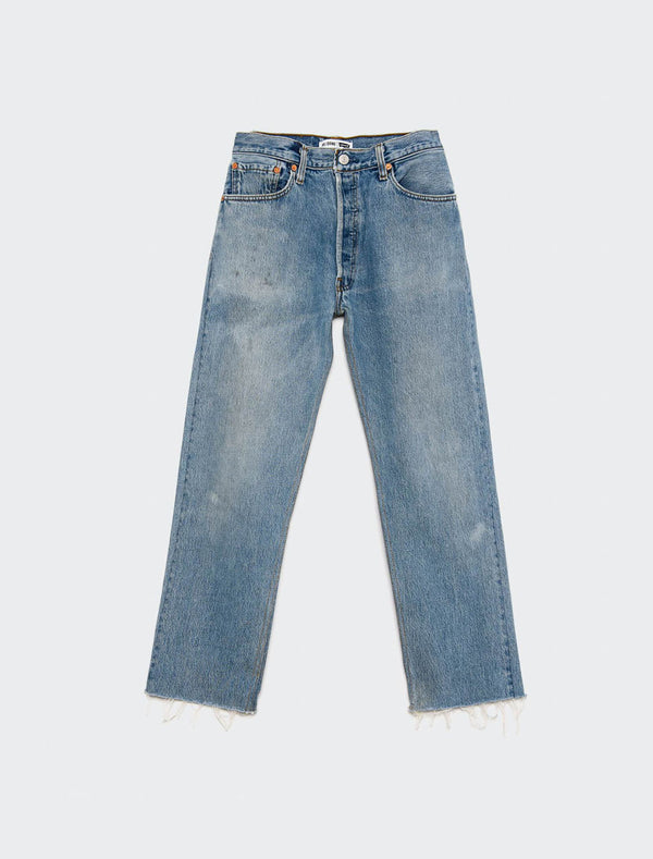 Jeans stove pipe a vita alta RE/DONE Levi's