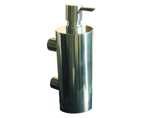 The Washroom SD500PS- Commercial Quality Solid Polished Stainless Steel 500ml Wall Mounted Soap Dispenser