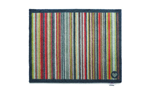 Hug Rug Stripe 32 Design Highly Absorbent Indoor Barrier Mat size 65x85cm