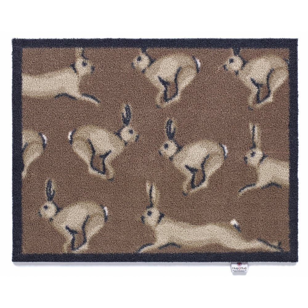 Hug Rug - Hare 1 Design - Highly Absorbent Indoor Barrier Mat 65x85cm