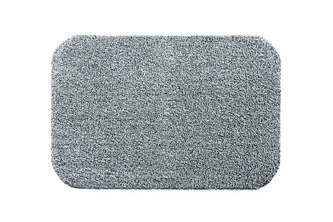 Hug Rug - Light Grey  Highly Absorbent Indoor Barrier Mat - Available in  3 Sizes