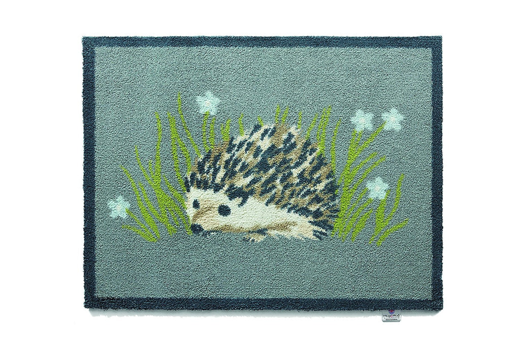 Hug Rug - Hedgehog 1 Design 65x85cm - Highly Absorbent Indoor Barrier Mat